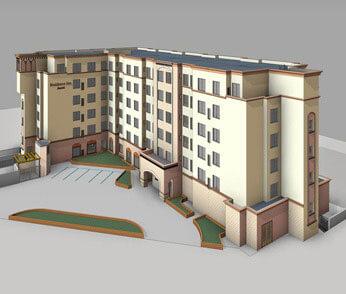 3D BIM Modeling Image