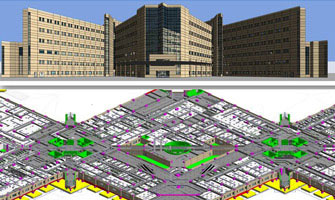 Building BIM Model Sample Image