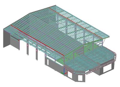 3D Isometric View