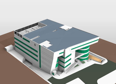 Hospital BIM Model Sample Image