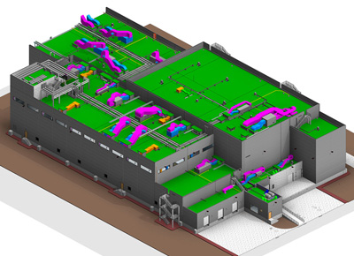 MEP 3D Model