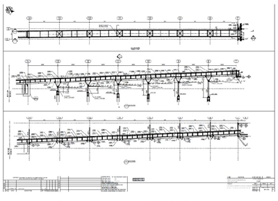 Shop Drawing Ramp Deck Plan and Section Sample Image