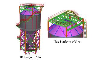 Silo 3d Model Sample Image